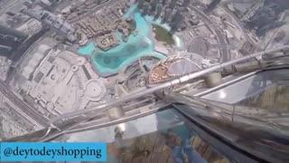 تست سقوط آیفون ۷ پلاس از بلندترین برج دنیا