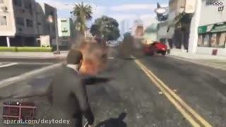 استفاده نوت 7 در بازی جی تی ای بعنوان مواد منفجره