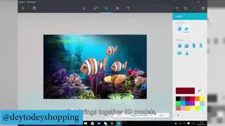 مایکروسافت اپلیکیشن Paint (نقاشی) را متحول می کند