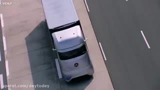 کامیون جدید خودران بنز