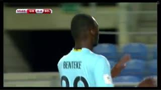 خلاصه بازی:  جبل الطارق  0 - 6  بلژیک