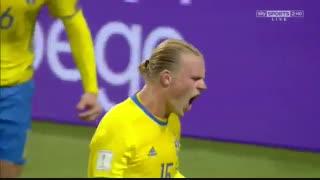 خلاصه بازی:  سوئد 3 - 0  بلغارستان