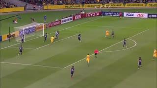 خلاصه بازی: استرالیا 1 - 1  ژاپن