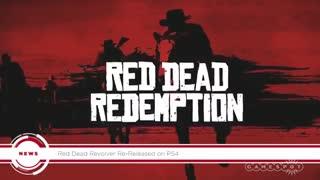 بازی Red Dead برروی ps4/ رسانه تصویری وی گذر
