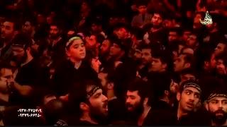 شور زیبای آذری حاج محمود کریمی شب تاسوعای حسینی 95