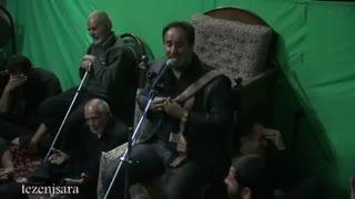 شام غریبان محرم95-طزنج-کربلایی رنجبر