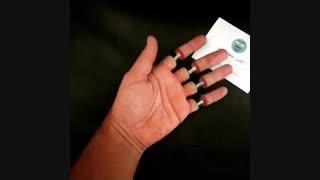 نقاشی سه بعدی خلاقانه روی دست