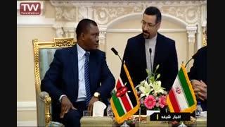 ترجمۀ شفاهی اکبر خرمی در حضور رئیس محترم مجلس – مهر ۹۵