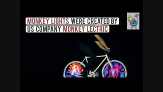 نمایش چرخ دوچرخه خیره کننده-