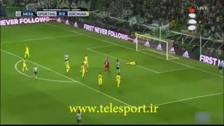 لیگ قهرمانان اروپا؛ دورتموند 2 - اسپورتینگ لیسبون 1