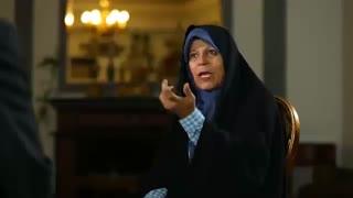 """تیزر برنامه جنجالی """" خشت خام """" - گفتگو با فائزه هاشمی"""