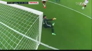خلاصه بازی:  والنسیا  2 - 3  بارسلونا