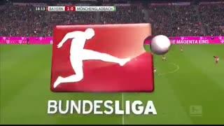 خلاصه بازی :  بایرن مونیخ  2 - 0  مونشن گلادباخ