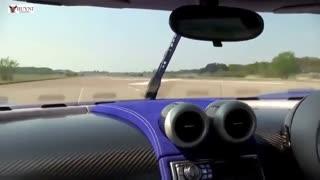 تاپ 10 سریع ترین اتومبیل های جهان