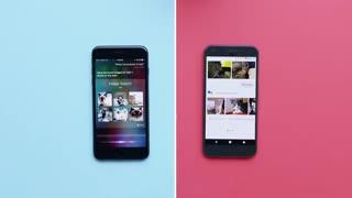 مقایسه عملکرد سیری و دستیار صوتی گوگل