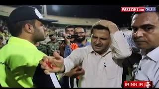 درگیری های بازی استقلال خوزستان - پرسپولیس