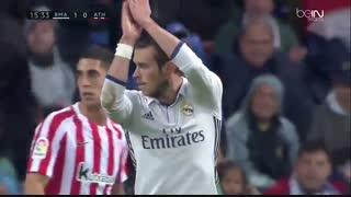 خلاصه بازی:  رئال مادرید  2 - 1  اتلتیک بیلبائو