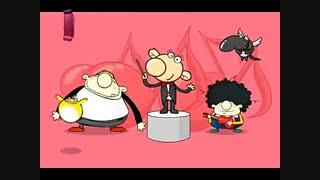 انیمیشن موزیکال abcd انگلیسی برای آموزش