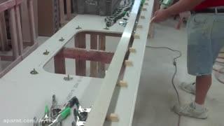 زیرسازی-نصب سینک و ابزار و اجرای کورین