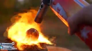 مشعل گاز در برابر پپسی