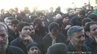 فضای غمبار عصر عاشورا در طزنج محرم1395
