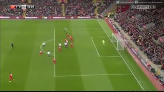 خلاصه بازی:  لیورپول  2 - 1  تاتنهام