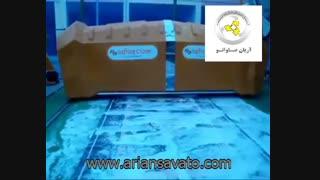قالیشور ریلی اتوماتیک SAFRAN, تجهیزات قالیشویی, دستگاه های قالیشویی اتوماتیک