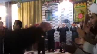 شب عاشورا مسجد بلینه با نوای کربلایی مراد جمالی