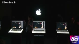 رونمایی اپل از جدیدترین تکنولوژی تاچ در مک بوک پرو