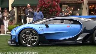 خودروی مفهومی و فوق العاده بوگاتی / رسانه تصویری وی گذر