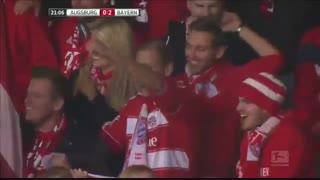 خلاصه بازی:  آگزبورگ  1 - 3   بایرن مونیخ