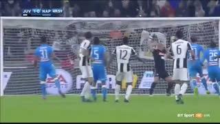 خلاصه بازی:  یوونتوس  2 - 1  ناپولی