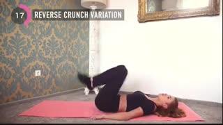 10 دقیقه تمرین برای کاهش سریع چربی شکم زنان