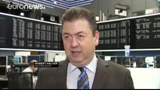 کاهش ارزش سهام در بازارهای بورس اروپایی