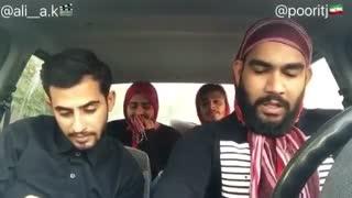 امتحان رانندگی دخترا ته خنده