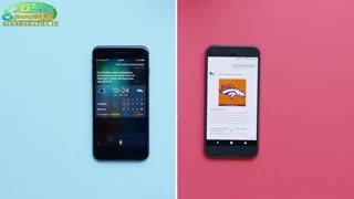 مقایسه سیری اپل و دستیار صوتی گوگل  (2016)