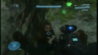 مرد میمون نما در بازی Halo 3