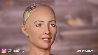 ربات انسان نما Sophia