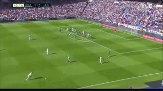 خلاصه بازی:  رئال مادرید  3 - 0  لگانس