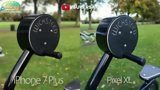 مقایسه دوربین Google Pixel XL و iPhone 7 Plus