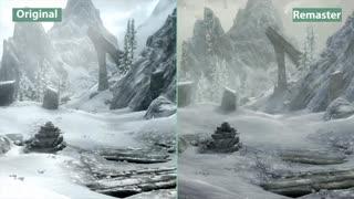 Skyrim Special Edition برروی پلیاستیشن ۴ پرو / رسانه تصویری وی گذر