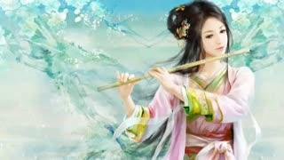 موسیقی ~فلوت چینی«Chinese Flute - Meng li - Huan Zhu Ge Ge»