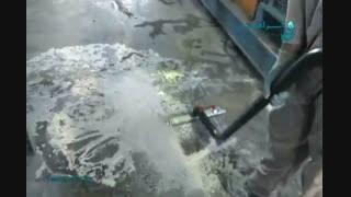 جاروبرقی صنعتی / نظافت محیط های صنعتی با آلودگی های سخت