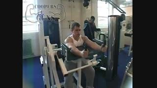 نمایش فیلم   آموزش حرکات بدنسازی  پشت بازو  با دستگاه