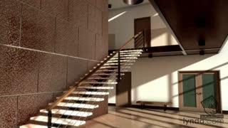 آموزش رندرینگ معماری داخلی در تری دی مکس - آریاگستر