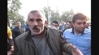 نارضایتی مردم از عملکرد فرماندار مریوان+فیلم