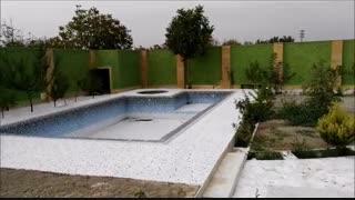 فیلم طراحی و اجرای باغی در شهریار