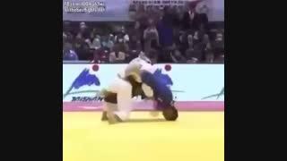 Judo Incredible Uchi Mata counter
