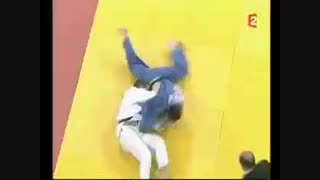 Incredible Judo osotogari counter in Competition