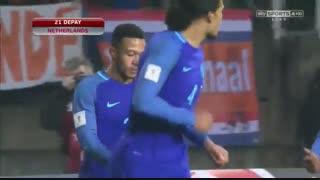 خلاصه بازی:  لوکزامبورگ  1 - 3  هلند